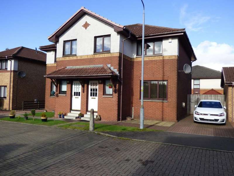 3 Bedrooms Semi Detached House for sale in 4 Castlegreen Gardens, Dumbarton, G82 1EX