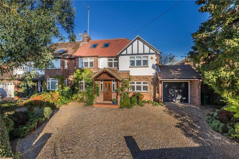 6 Bedrooms Semi Detached House for sale in Valley Rise, Wheathampstead, St. Albans, Hertfordshire