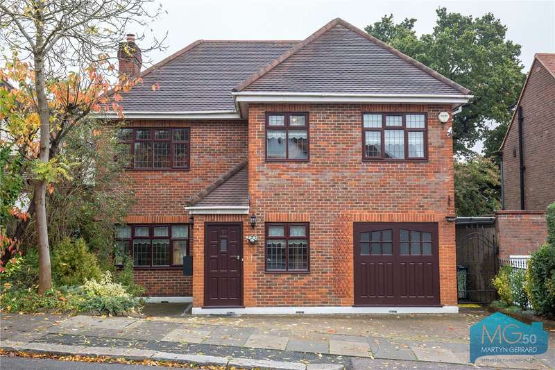 4 Bedrooms Detached House for sale in Hillside Gardens, Barnet, Hertfordshire, EN5