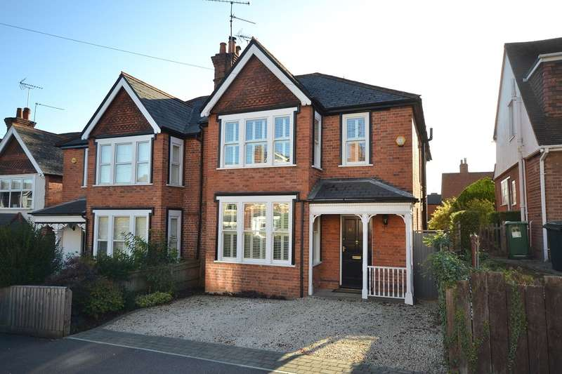 4 Bedrooms Semi Detached House for sale in Priest Hill, Caversham, Reading