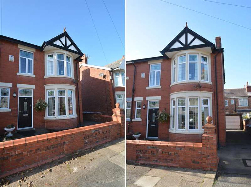 3 Bedrooms Semi Detached House for sale in Worsley Avenue, South Shore, Blackpool, FY4 2DH