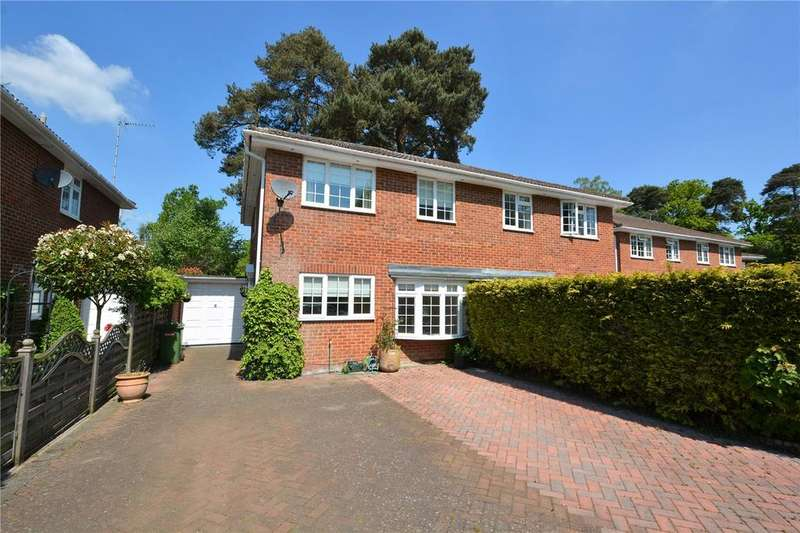 4 Bedrooms Semi Detached House for sale in Cambrian Way, Finchampstead, Berkshire, RG40