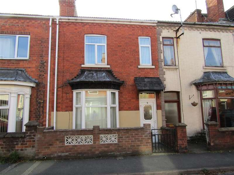 2 Bedrooms Terraced House for sale in Tooley Street, Gainsborough, DN21 2AP