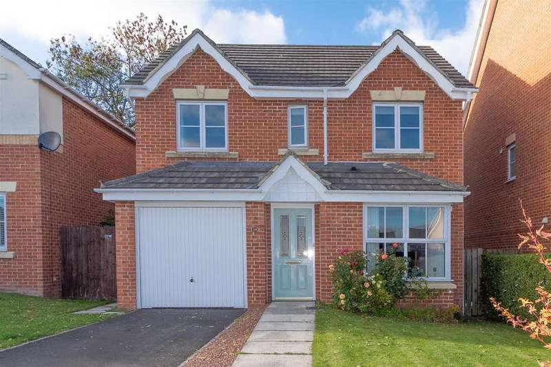 4 Bedrooms Detached House for sale in Chapel Drive, Consett, DH8 7EW
