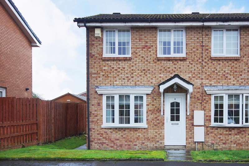 2 Bedrooms End Of Terrace House for sale in Clay Crescent, Kilmarnock KA3