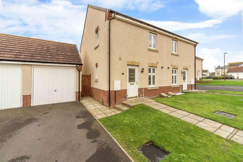 2 Bedrooms Semi Detached House for sale in 1 Burnbrae Pend, Bonnyrigg, EH19 3FH