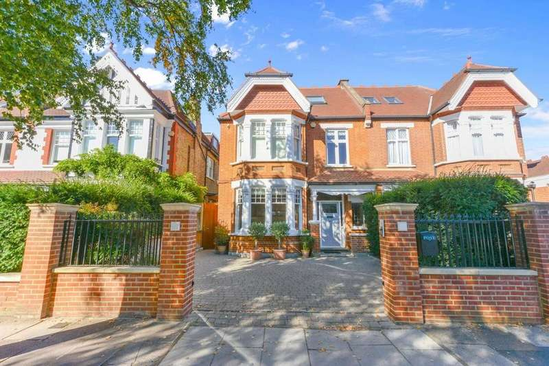 6 Bedrooms Semi Detached House for sale in Stanway Gardens, Ealing Common, W3