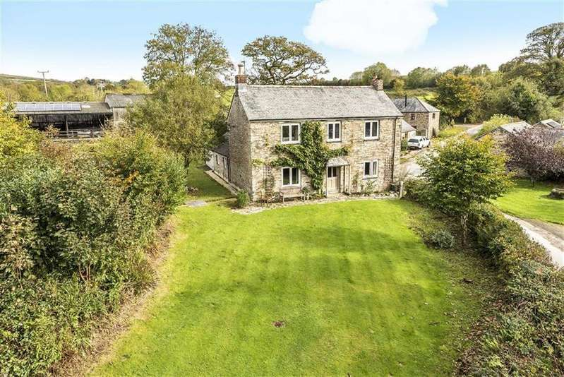 4 Bedrooms Detached House for sale in Cardinham, Bodmin, Cornwall, PL30