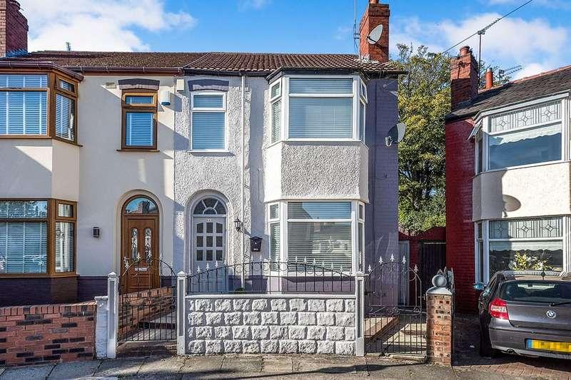 3 Bedrooms Semi Detached House for sale in Desborough Crescent, Liverpool, L12