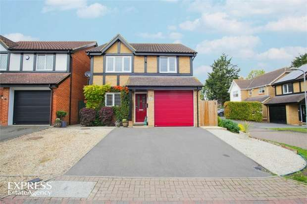 4 Bedrooms Detached House for sale in Lawrence Close, Aylesbury, Buckinghamshire