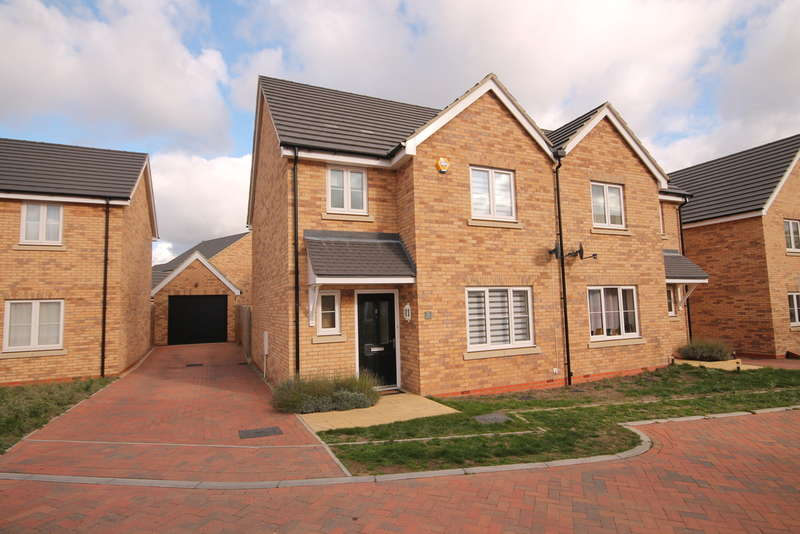 3 Bedrooms Semi Detached House for sale in Keeley Croft, New Cardington, Shortstown, MK42