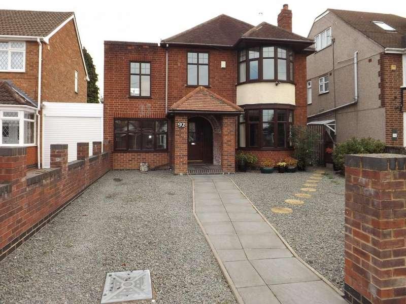 4 Bedrooms Detached House for sale in Newdigate Road, Bedworth, CV12