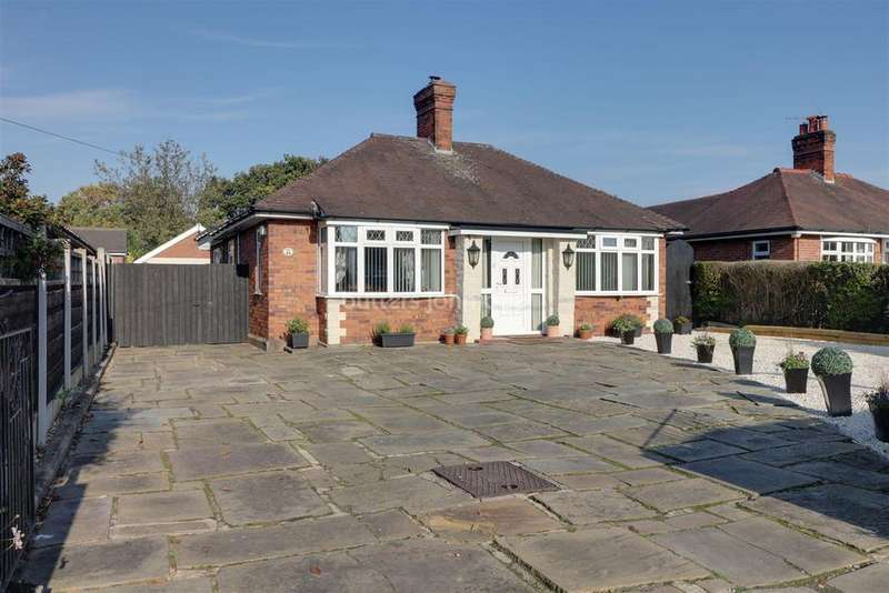 3 Bedrooms Bungalow for sale in Hawthorne Drive, Sandbach