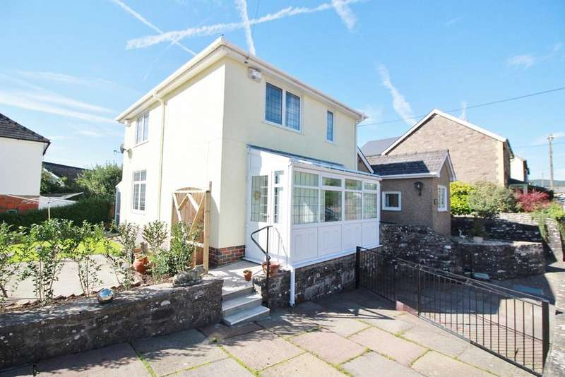 3 Bedrooms Detached House for sale in Clifton Road, Abergavenny, NP7