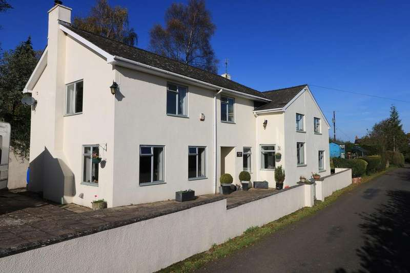 5 Bedrooms Detached House for sale in Firs Road, Llanvapley, Abergavenny, NP7