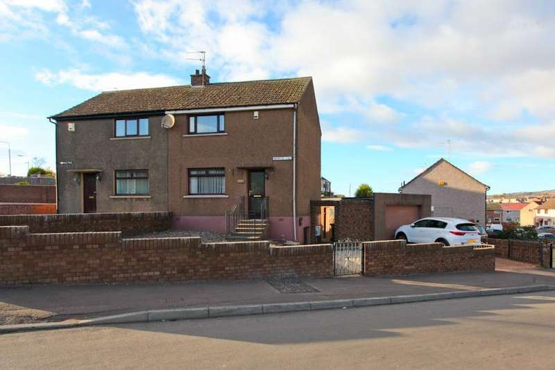 3 Bedrooms Semi Detached House for sale in Bourtree Bank, Methil, Leven