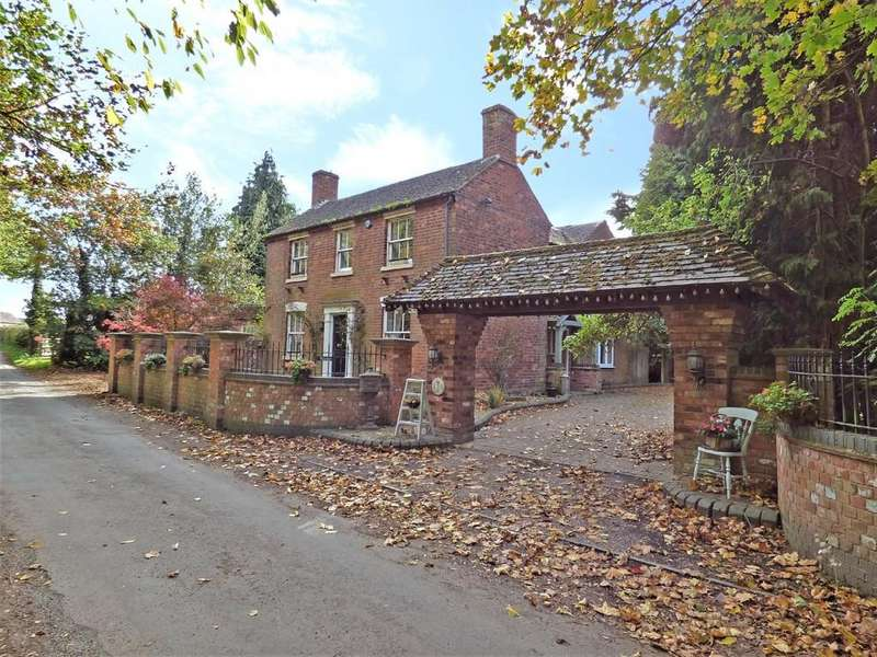 4 Bedrooms Cottage House for sale in Vicarage Lane, Whittington