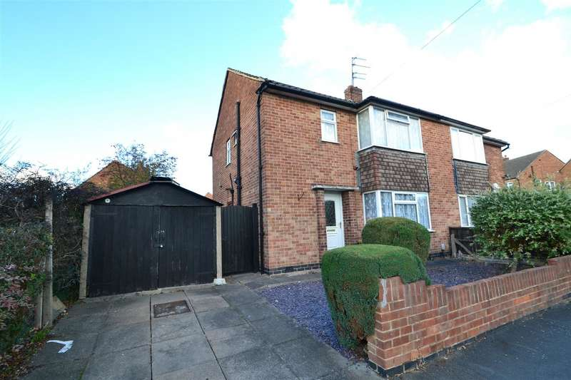 3 Bedrooms Semi Detached House for sale in Cotswold Close, Loughborough, Leicestershire