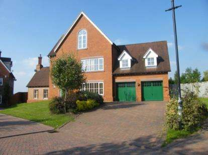 5 Bedrooms Detached House for sale in Sandford Crescent, Crewe, Cheshire