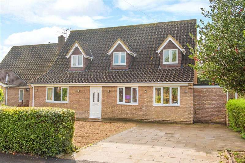 4 Bedrooms Detached House for sale in Church Road, Wootton, Bedford, Bedfordshire