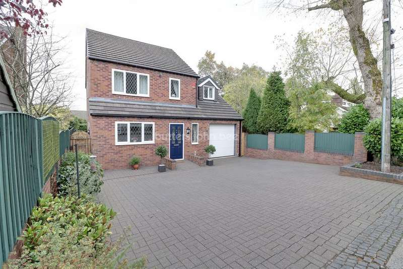 4 Bedrooms Detached House for sale in Grindley Lane, Meir Heath, ST3 7LW