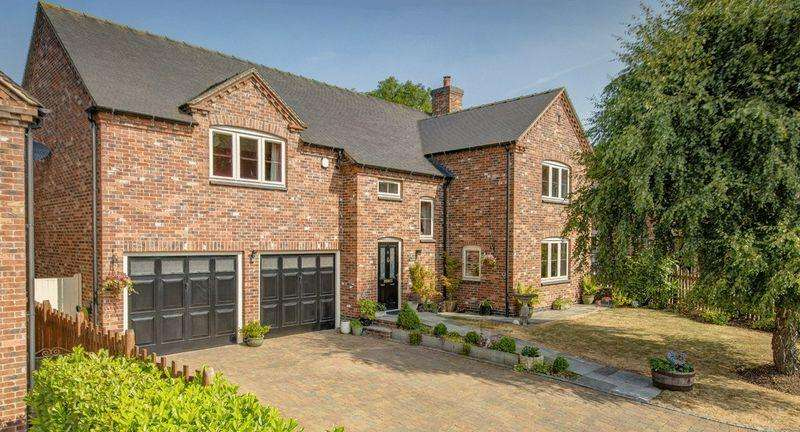 4 Bedrooms Detached House for sale in Fieldside, Saracens Court, Brailsford