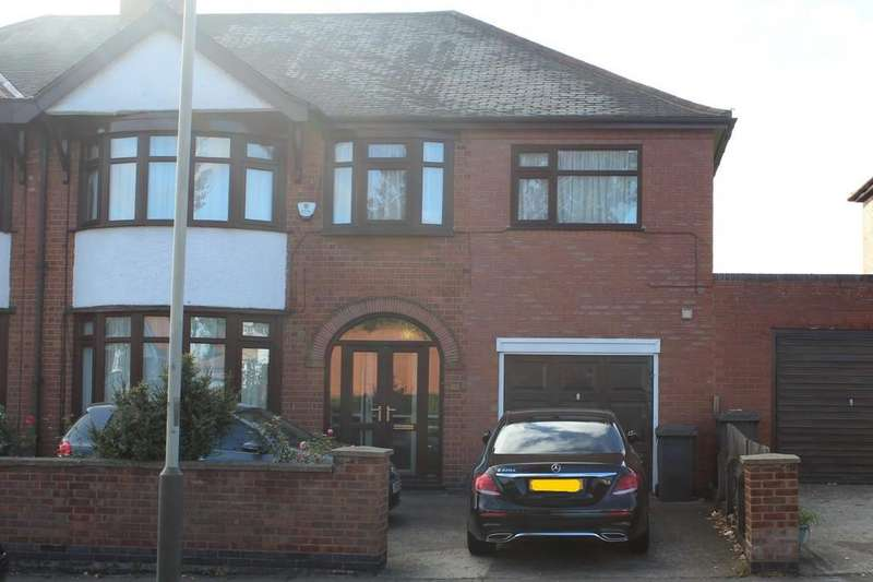 5 Bedrooms Semi Detached House for sale in Chesterfield Road, Evington , Leicester