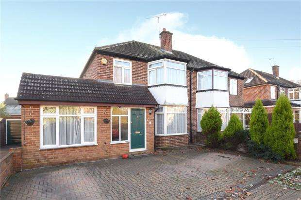 4 Bedrooms Semi Detached House for sale in Harcourt Road, Windsor, Berkshire