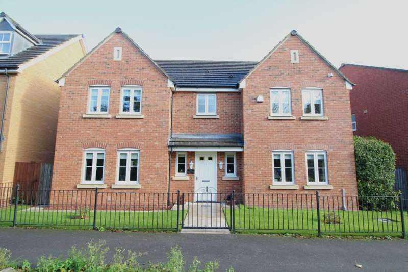 4 Bedrooms Detached House for sale in Surtees Drive, Willington, Crook, DL15
