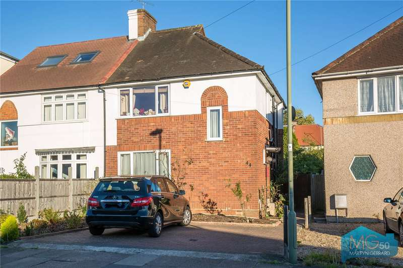 3 Bedrooms Semi Detached House for sale in Brookfield Avenue, Mill Hill, London, NW7