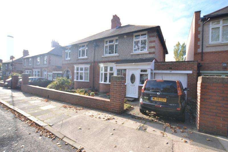 3 Bedrooms Semi Detached House for sale in Denewell Avenue, Newcastle Upon Tyne