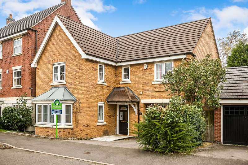 4 Bedrooms Detached House for sale in Attingham Drive, Dudley, DY1