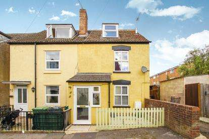 3 Bedrooms End Of Terrace House for sale in Severn View Parade, Newtown, Berkeley, Gloucestershire