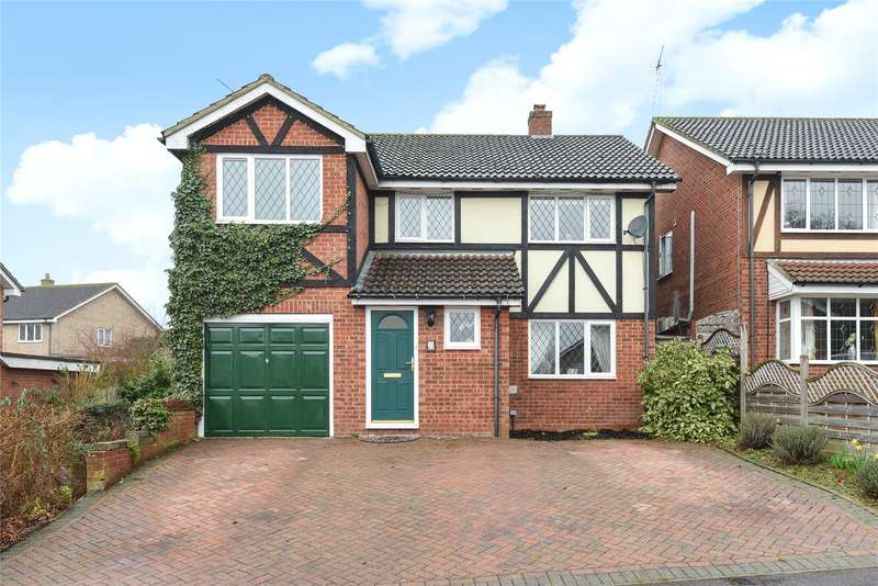 4 Bedrooms Detached House for sale in Tippits Mead, Bracknell, Berkshire, RG42