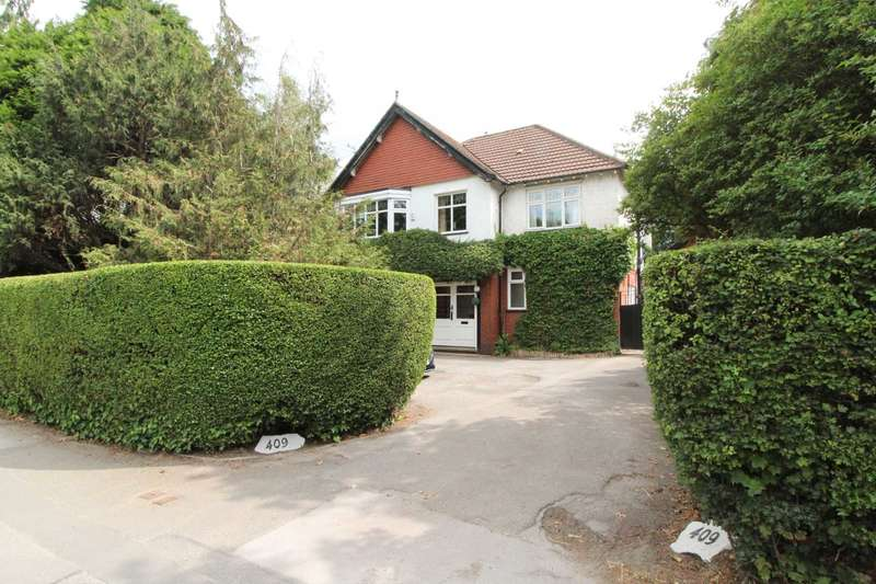 4 Bedrooms Detached House for sale in CHESTER ROAD, Woodford - NO CHAIN