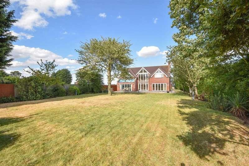 4 Bedrooms Detached House for sale in Mirador, Tollerton Lane, Tollerton, Nottingham