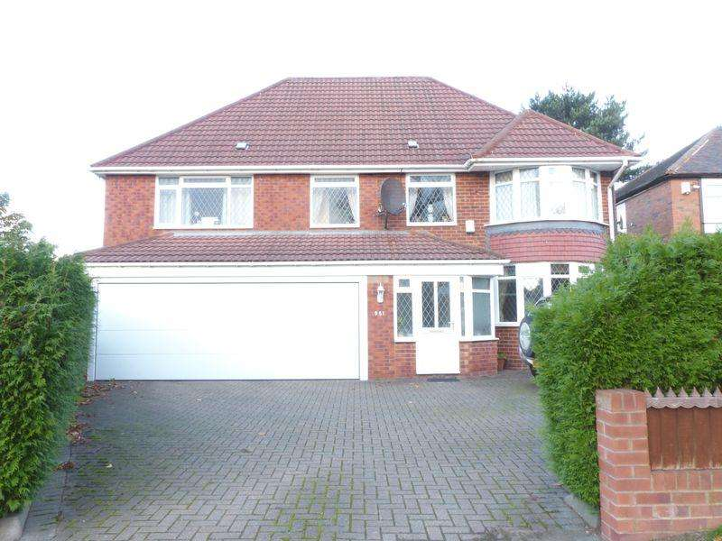4 Bedrooms Detached House for sale in Chester Road, Birmingham