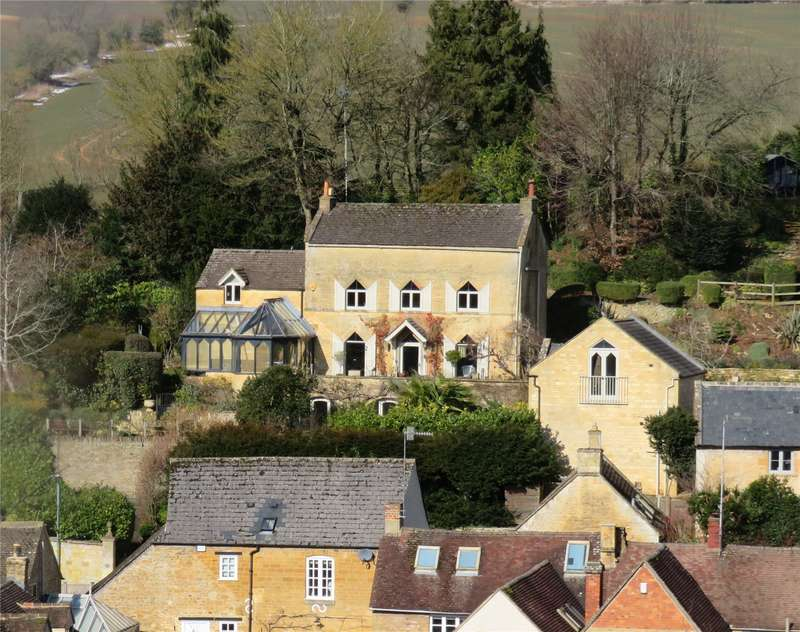 4 Bedrooms Detached House for sale in High Street, Blockley, Moreton-in-Marsh, GL56