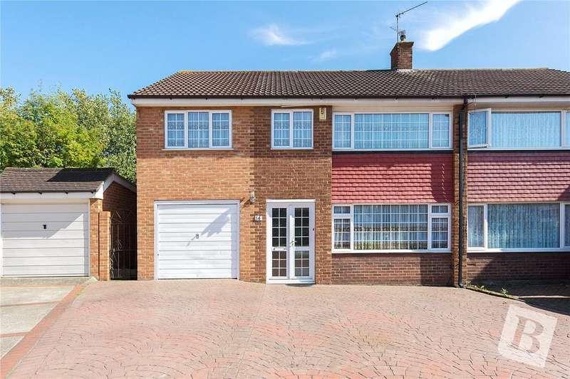 4 Bedrooms Semi Detached House for sale in Vauxhall Close, Northfleet, Gravesend, Kent, DA11