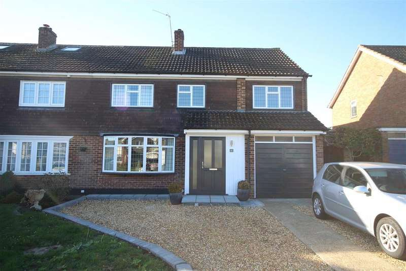 4 Bedrooms Semi Detached House for sale in Cornfield Road, Woodley, Reading