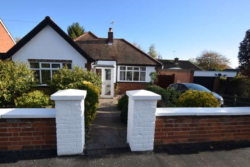 2 Bedrooms Detached Bungalow for sale in Hallam Avenue, Birstall, Leicester, LE4