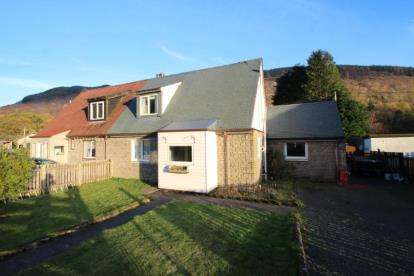 3 Bedrooms Semi Detached House for sale in Forestry Houses, Succoth