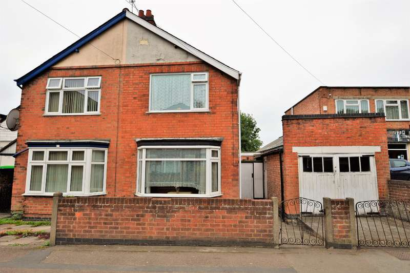 2 Bedrooms Semi Detached House for sale in Saffron Road, Wigston, LE18 4TD