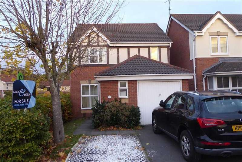 3 Bedrooms Detached House for sale in Haskell Close, Thorpe Astley