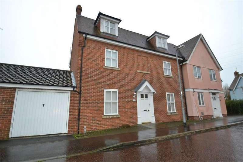 5 Bedrooms Semi Detached House for sale in Mascot Square, COLCHESTER, CO4