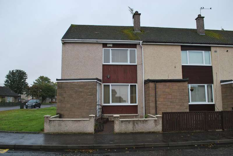 2 Bedrooms End Of Terrace House for sale in 2, Myreton Road, Grangemouth, FK3 0BE