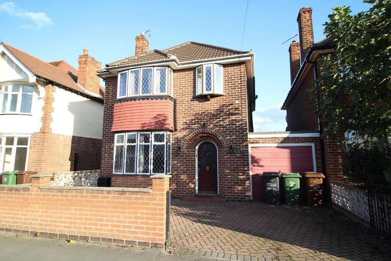 3 Bedrooms Detached House for sale in Beacon Road, Loughborough