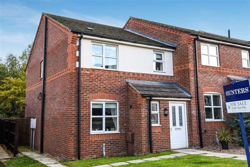 3 Bedrooms Semi Detached House for sale in Baggaley Drive, Horncastle, Lincs, LN9 5GE
