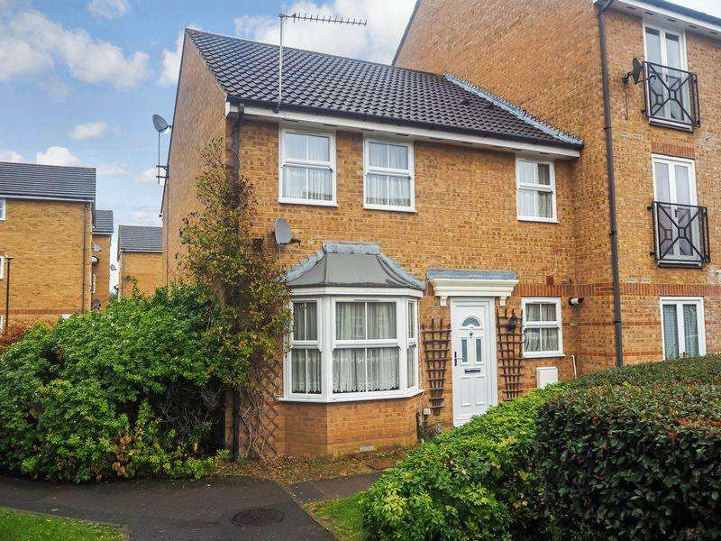 2 Bedrooms End Of Terrace House for sale in 0.8 Miles to Langley Railway Station Maplin Park