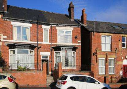 3 Bedrooms End Of Terrace House for sale in Scott Road, Sheffield, South Yorkshire